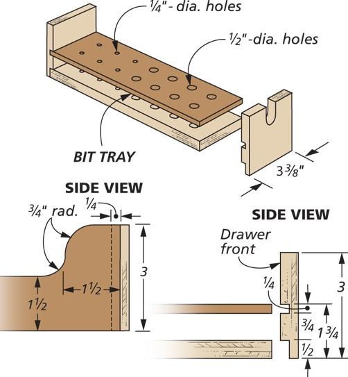 Drawer & Tray