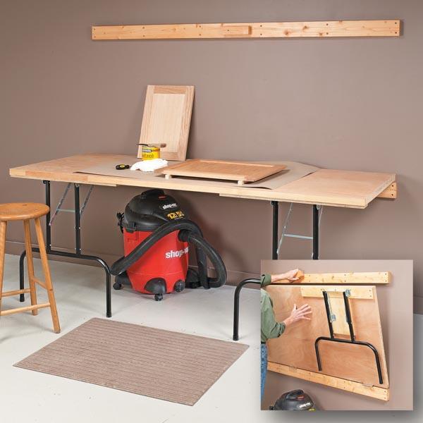 Phenomenal Fold Down Worktable Woodsmith Ncnpc Chair Design For Home Ncnpcorg